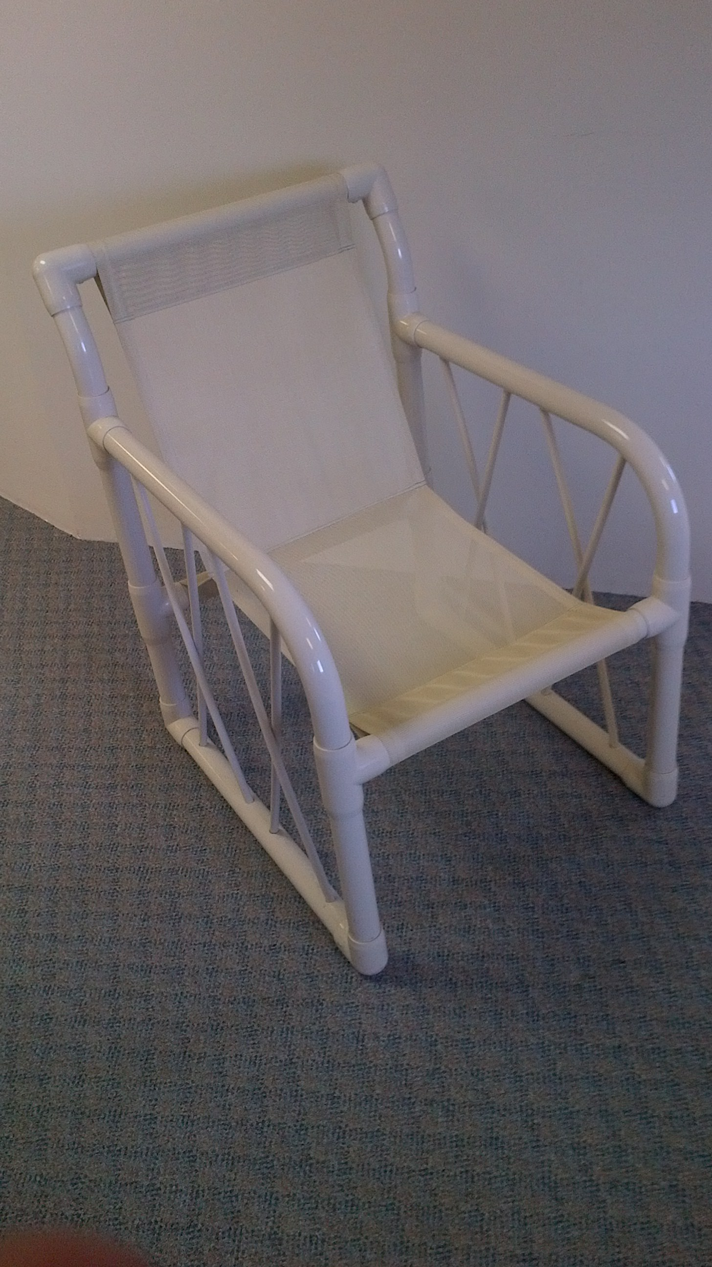 Replacement Slings Club Dining Chair Sling White